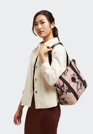 ASSENI S - Tote bag - coral flower