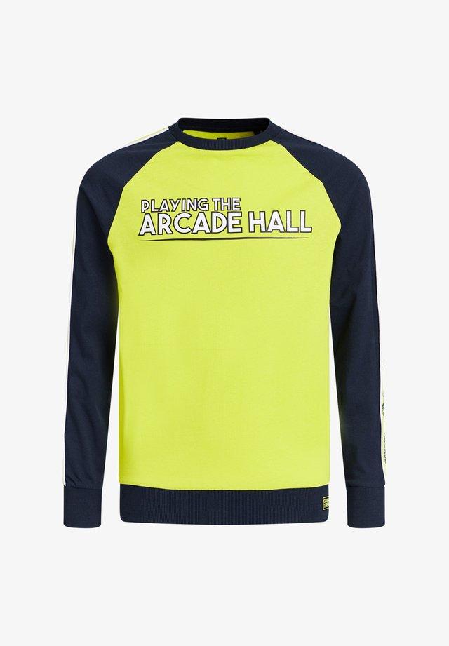Longsleeve - bright yellow