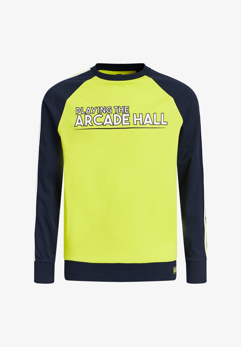 WE Fashion - Long sleeved top - bright yellow