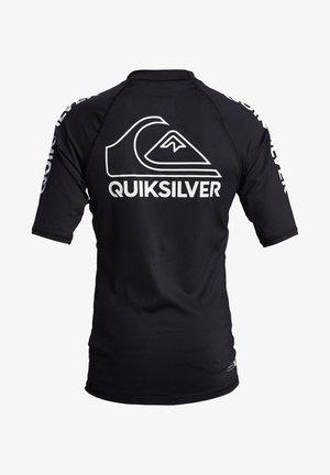 QUIKSILVER™ ON TOUR - KURZÄRMLIGER RASHGUARD MIT UPF 50 FÜR JUNG - Sports shirt - black