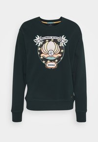 Scotch & Soda - WITH VARIOUS ARTWORKS - Sweater - lagoon green - 0