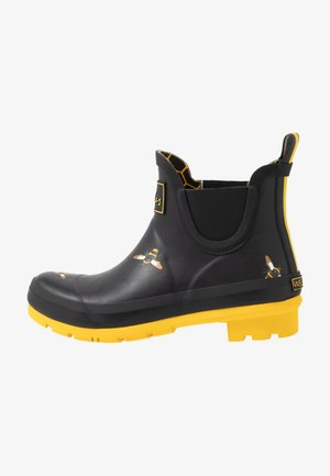 WELLIBOB - Botas de agua - black/metallic