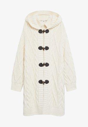 MARA - Zimní kabát - ecru