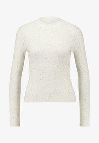 Monki - SAMINA - Long sleeved top - off white - 3