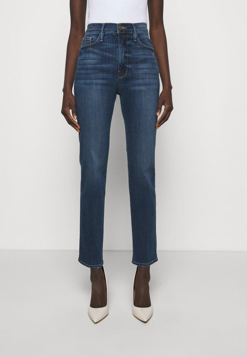 Frame Denim - LE SYLVIE SLENDER - Straight leg jeans - stallion