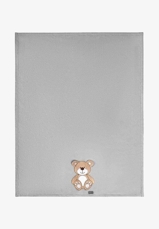 Manta de bebé - grey bear