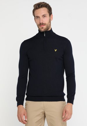 GOLF QUARTER ZIP - Sweter - navy
