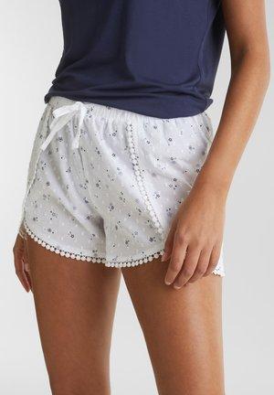 MIT SPITZE - Nattøj bukser - white