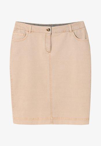 MOTI - Pencil skirt - beige
