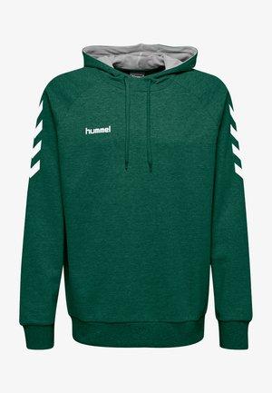 GO HOODIE - Hoodie - evergreen