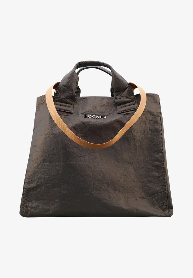 SERFAUS ZAHA XLHO - Shopping bag - khaki