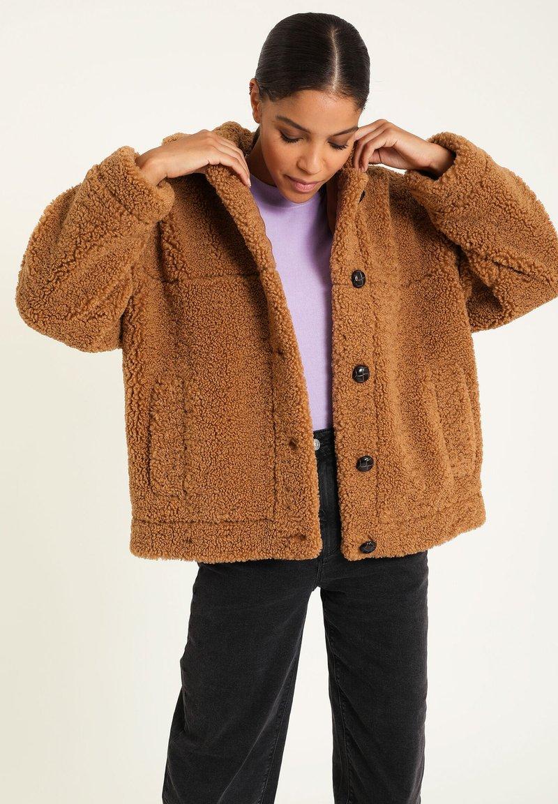 Pimkie - Fleece jacket - kastanienbraun