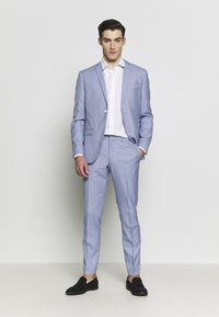 Isaac Dewhirst - BIRDSEYE SUIT - Completo - blue - 1