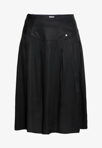 Sheego - Pleated skirt - schwarz - 5