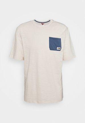 CAMPEN TEE - Print T-shirt - vintage white