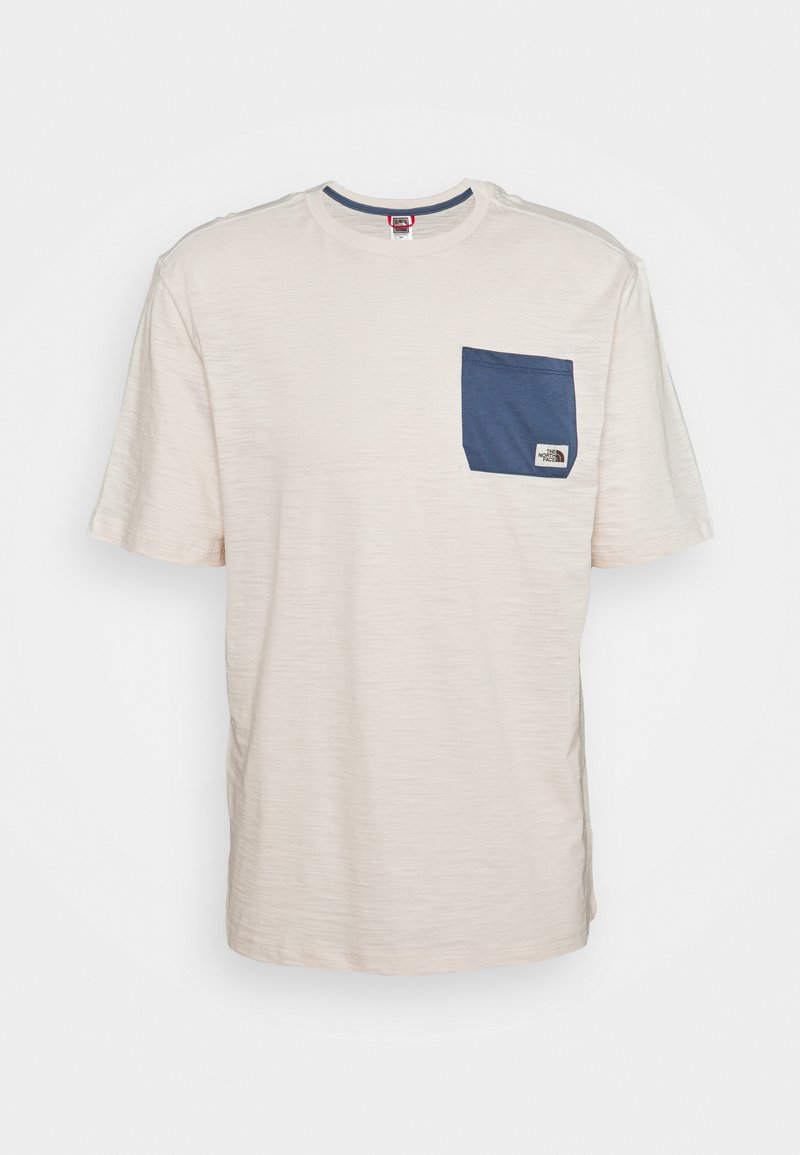 The North Face - CAMPEN TEE - Print T-shirt - vintage white