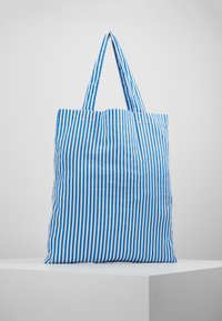 Mads Nørgaard - ATOMA - Tote bag - blue/white - 2