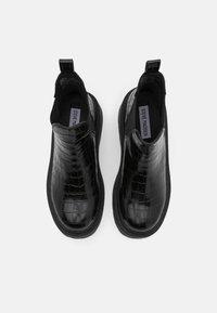 Steve Madden - SHADOW - Platform ankle boots - black - 5