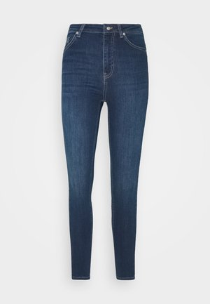 HIGH WAIST - Jeans Skinny Fit - dark blue