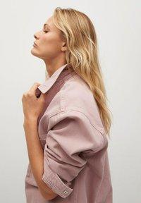 Mango - MICHELLE - Button-down blouse - lys/pastell lilla - 4