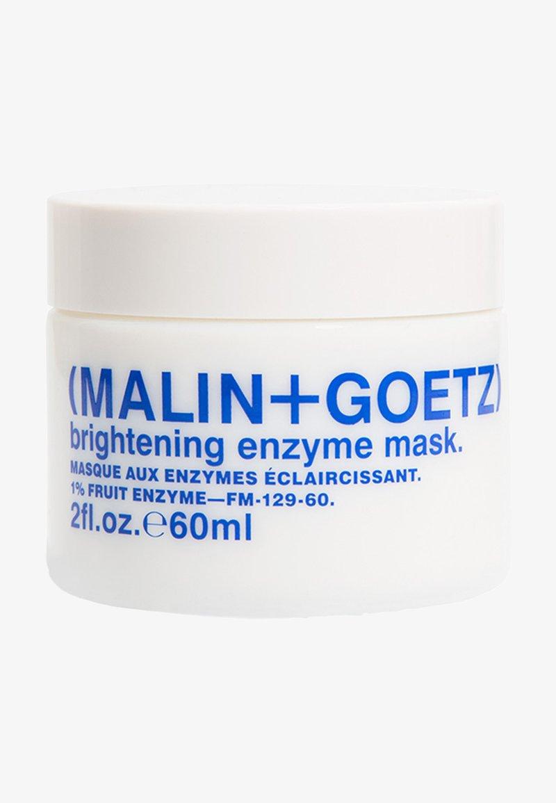 MALIN+GOETZ - GESICHTSPEELING & MASKE BRIGHTENING ENZYME MASK - Face mask - -