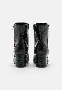 Miss Selfridge - BILLION - Kotníkové boty - black - 3