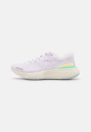 ZOOMX INVINCIBLE RUN FK - Competition running shoes - light violet/white/infinite lilac/citron pulse/green glow/grey fog