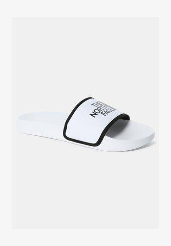 Badesandaler - tnf white/tnf black