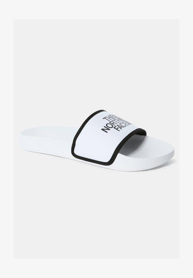 Badslippers - tnf white/tnf black