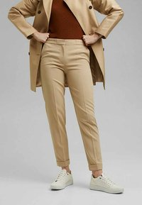 Esprit Collection - Trousers - sand - 3
