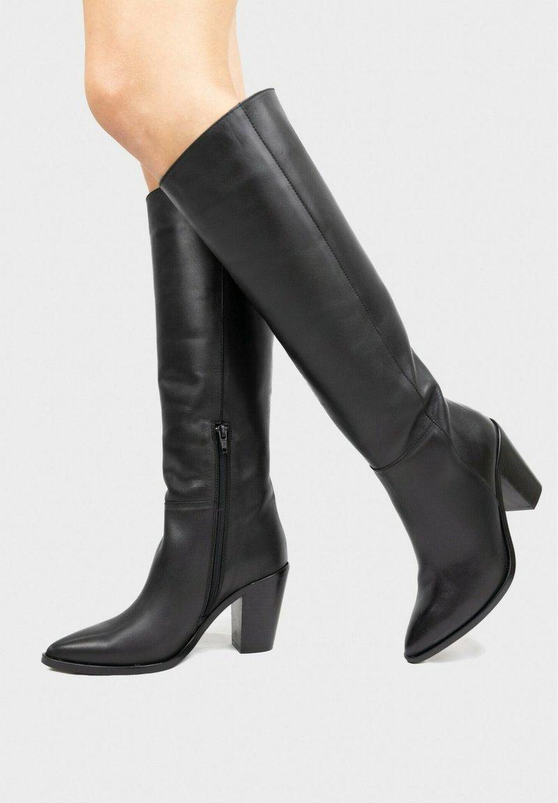 Eva Lopez - High heeled boots - black