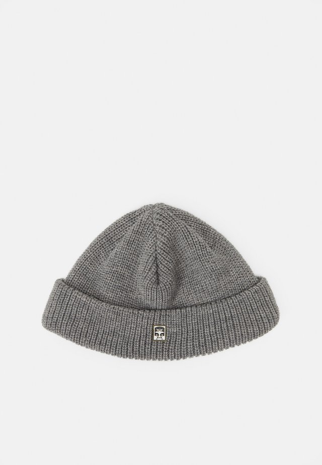 MICRO BEANIE UNISEX - Pipo - grey heather