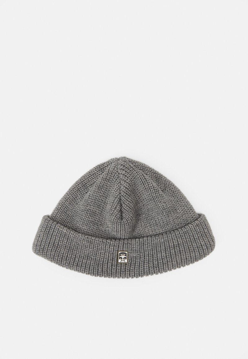Obey Clothing - MICRO BEANIE UNISEX - Czapka - grey heather