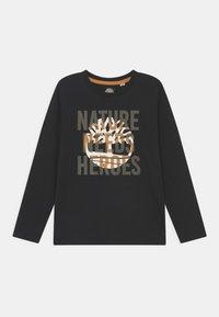 Timberland - LONG SLEEVE - Maglietta a manica lunga - black - 0