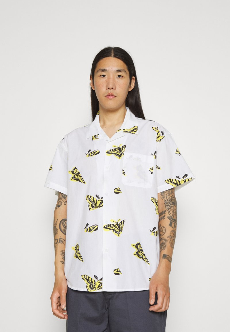 Obey Clothing - BUTTERFLY - Shirt - white/multi coloured