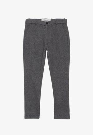 Chino kalhoty - anthrazit melange