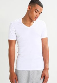 G-Star - BASE 2 PACK - Basic T-shirt - white - 1
