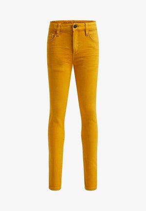 MET STRETCH - Slim fit jeans - ochre yellow