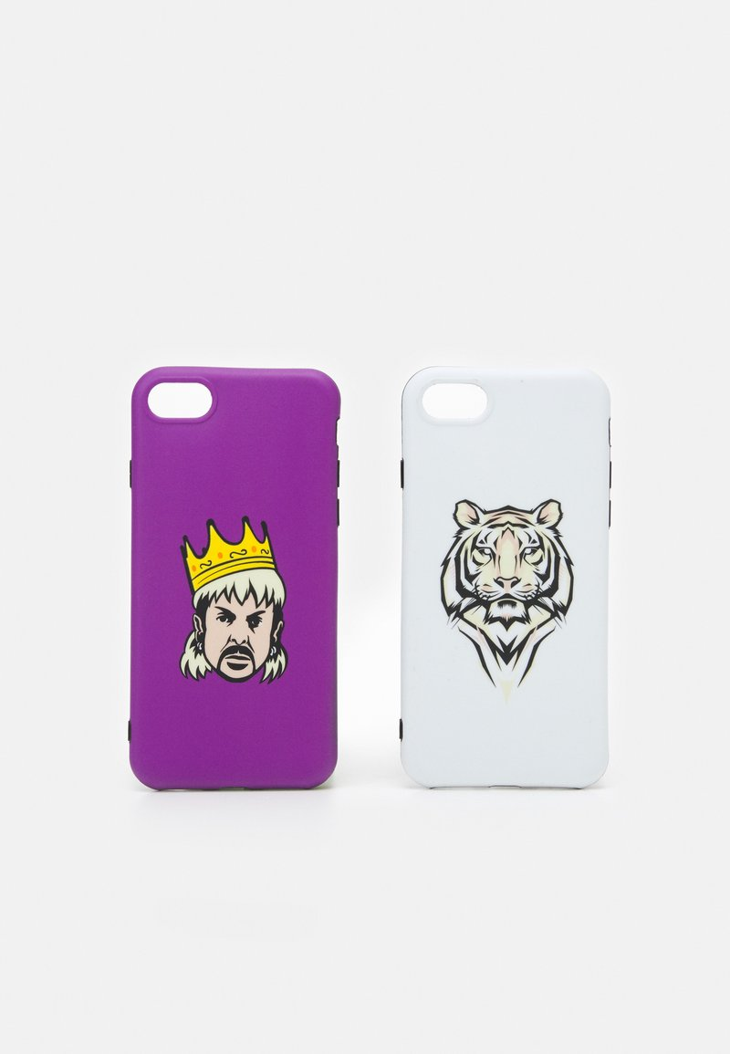 Urban Classics - BIG CATS CASE 2 SET - Overige accessoires - white/violet