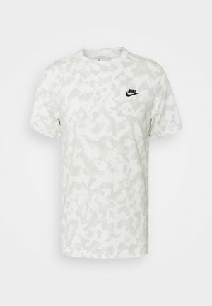 TEE CLUB HOOK - Print T-shirt - summit white