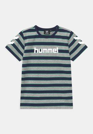 AJAX UNISEX - T-shirt print - grey melange