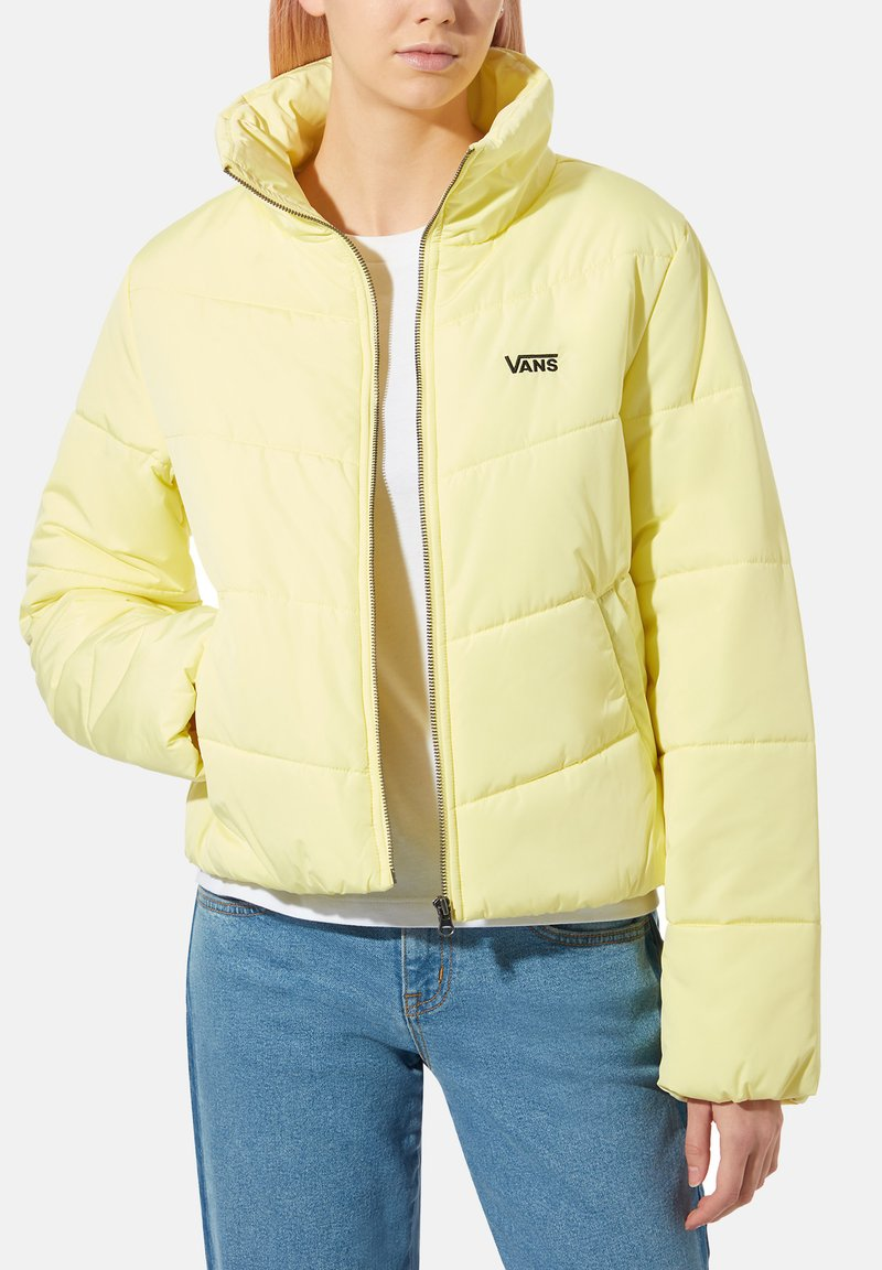 Vans - WM FOUNDRY V PUFFER MTE - Winter jacket - yellow pear
