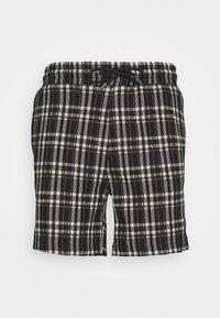 Denim Project - ELASTIC - Shorts - black/beige - 0