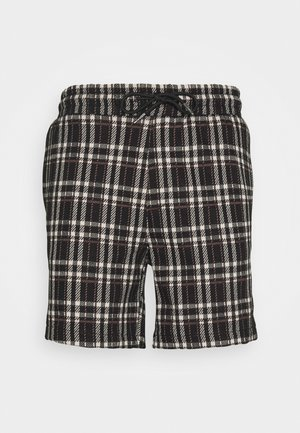 ELASTIC - Shorts - black/beige