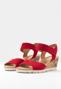 Gabor Comfort - Wedge sandals - rubin - 4