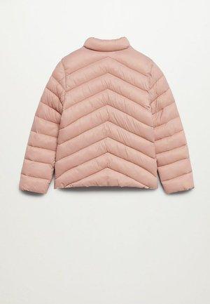 Gewatteerde jas - rosa