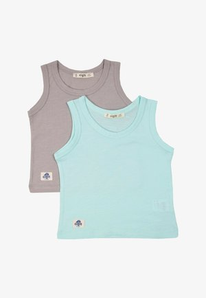 2 PACK - Top - turquoise