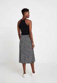 KIOMI - A-line skirt - black/white - 2