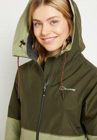 Berghaus - Soft shell jacket - green - 3