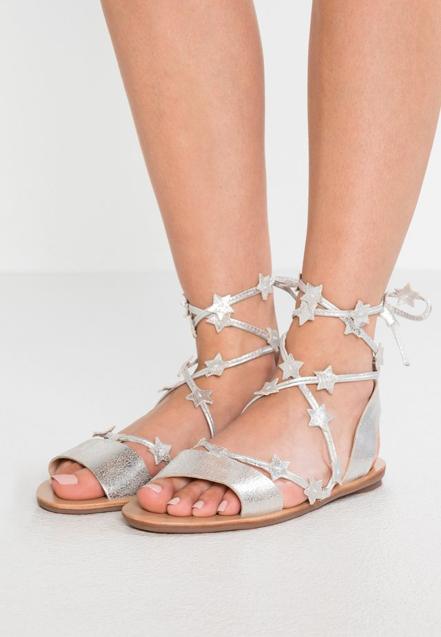 STARLA - Sandály - silver